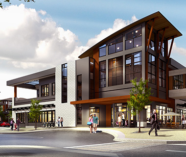 rendering of Westman Village condos