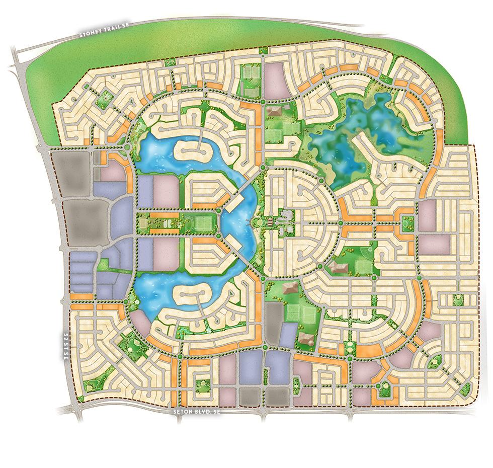 Amenity Map Mahogany