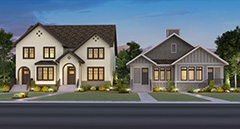 Mahogany Executive Paired Homes rendering