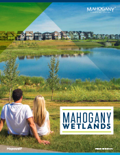 click here to download the Mahogany Wetland Brochure
