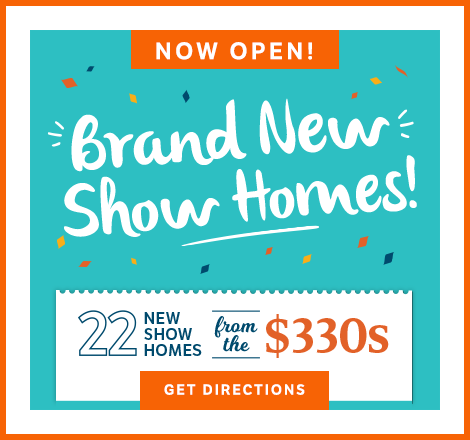 Brand New Show Homes graphic