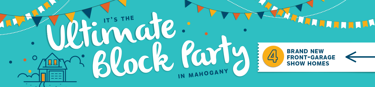 Ultimate Block Party in Mahogany banner