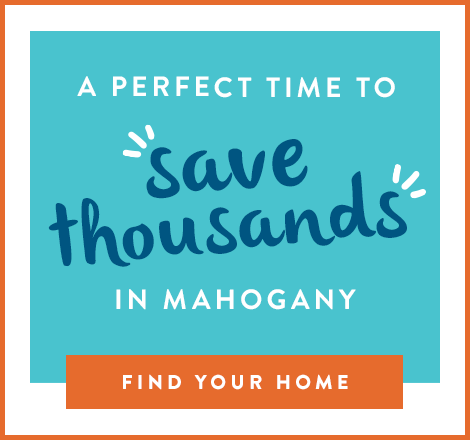 A Perfect Time to Save Thousands in Mahogany graphic